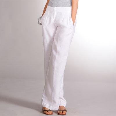 5a6cfe5a60a Pantalon blanc grande taille femme - Photos de robes