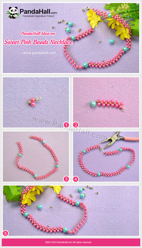 4PandaHall-Idea-on-Sweet-Pink-Beads-Necklace
