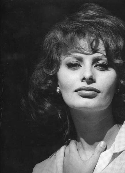 Sophia Loren en 1955 - photo 03