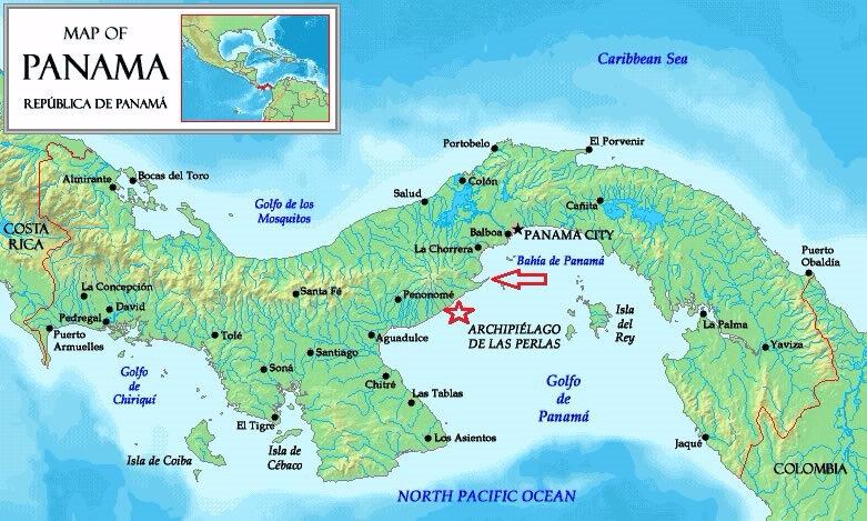 carte-geographique-panama
