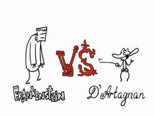 D'Artagnan versus frankestein