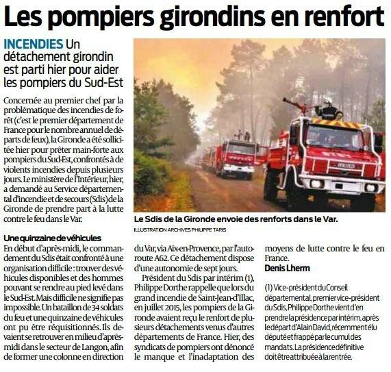 2017 07 26 SO Les pompiers girondins en renfort