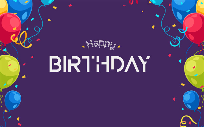 thumb2-happy-birthday-art-violet-background-birthday