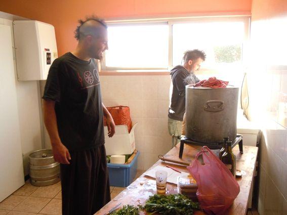 punk en cuisine