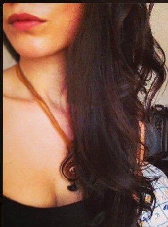Mes cheveux au bout d'un mois de traitement