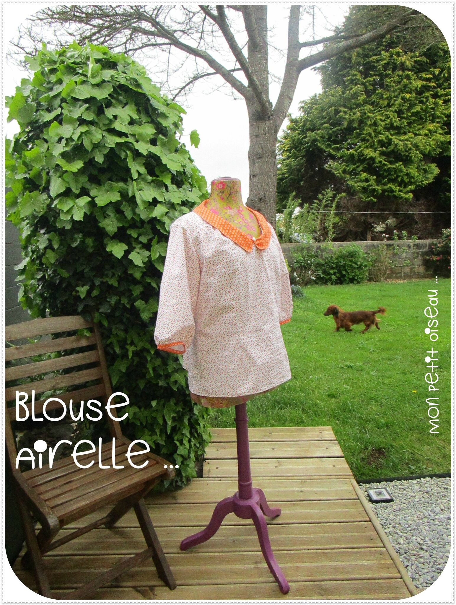 Blouse Airelle de Deer & Doe ...