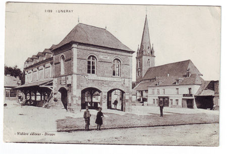 76 - LUNERAY - Mairie