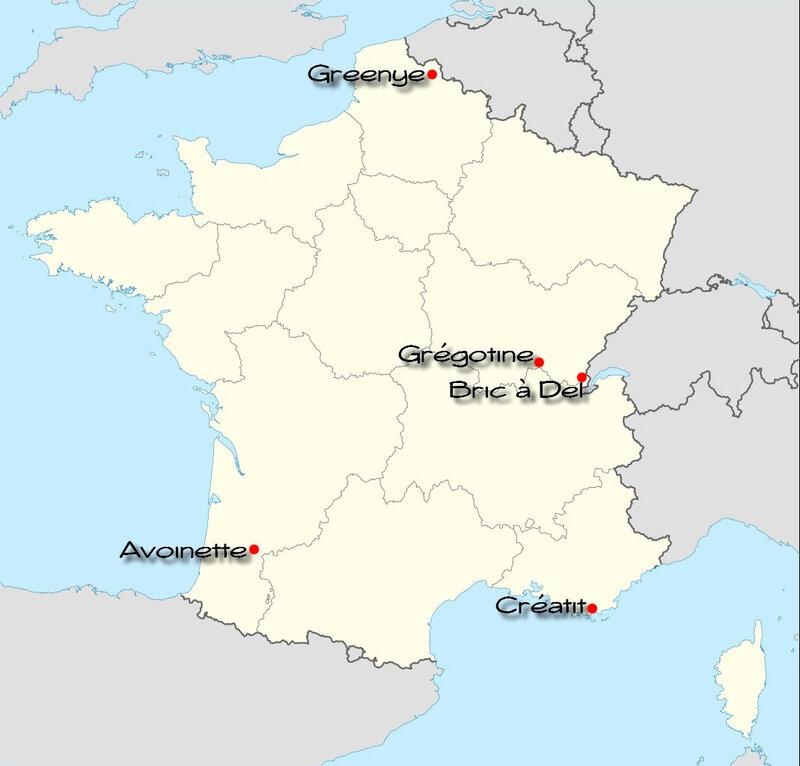 carte de France OM 2020
