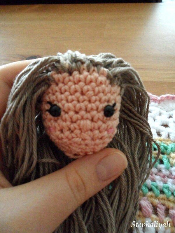 Suite CAL poupée crochet - 3