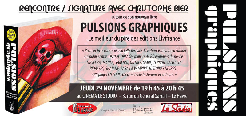 FLYER PULSIONS GRAPHIQUES