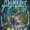 Malenfer. tome 1 : la forêt des ténèbres de cassandra o'donnell