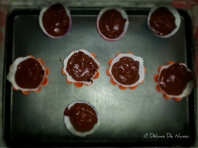 Base cupcake choco