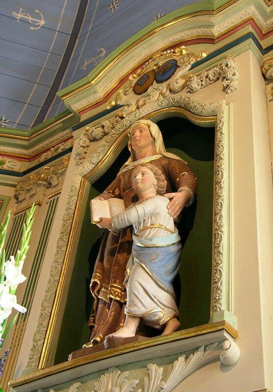 Ch24 - Notre Dame du Bon Voyage - L'autel de Sainte Anne