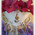 Ancien vase de globe de mariée