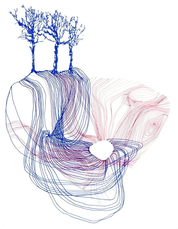 2015 digital choreography tree I