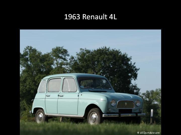 1963 - Renault 4L