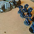 Duel fraticide space marines