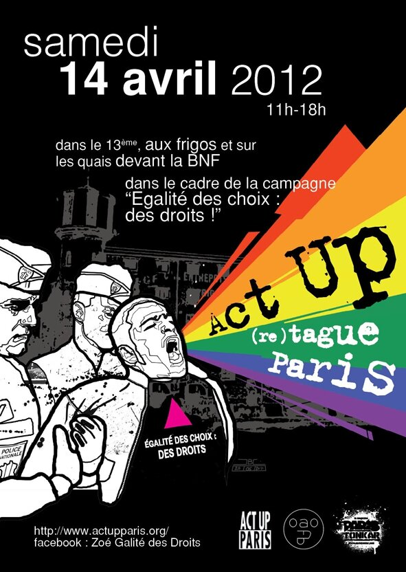 Action pour Act Up