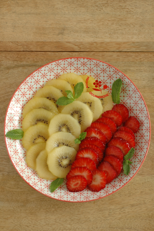 Assiette kiwi gold & fraises_2