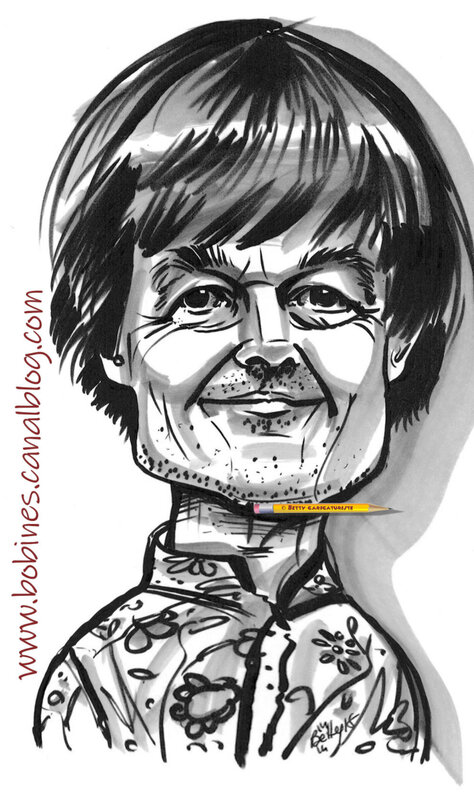 Caricature Nicolas Hulot betty caricaturiste