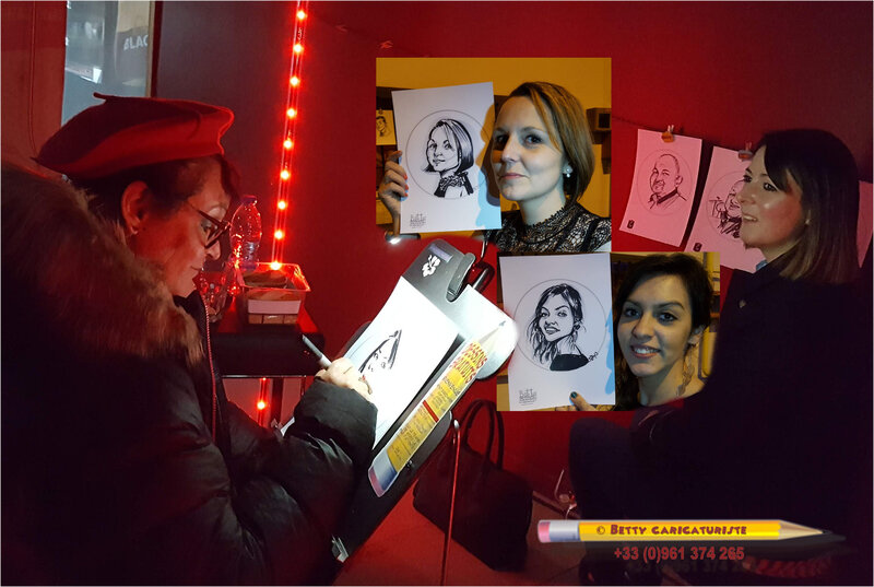 animation parc expo epinal vosges 88 caricature caricaturiste mariage