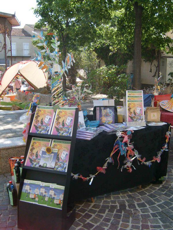 Stand Fête du jeu Salon-de-Provence 26 juin 2012 - Communication Ecologie tout public