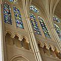 Chartres, la cathédrale, l'intérieur
