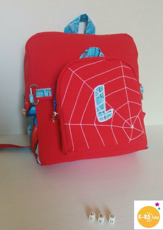 Sac à dos spiderman 5 bis