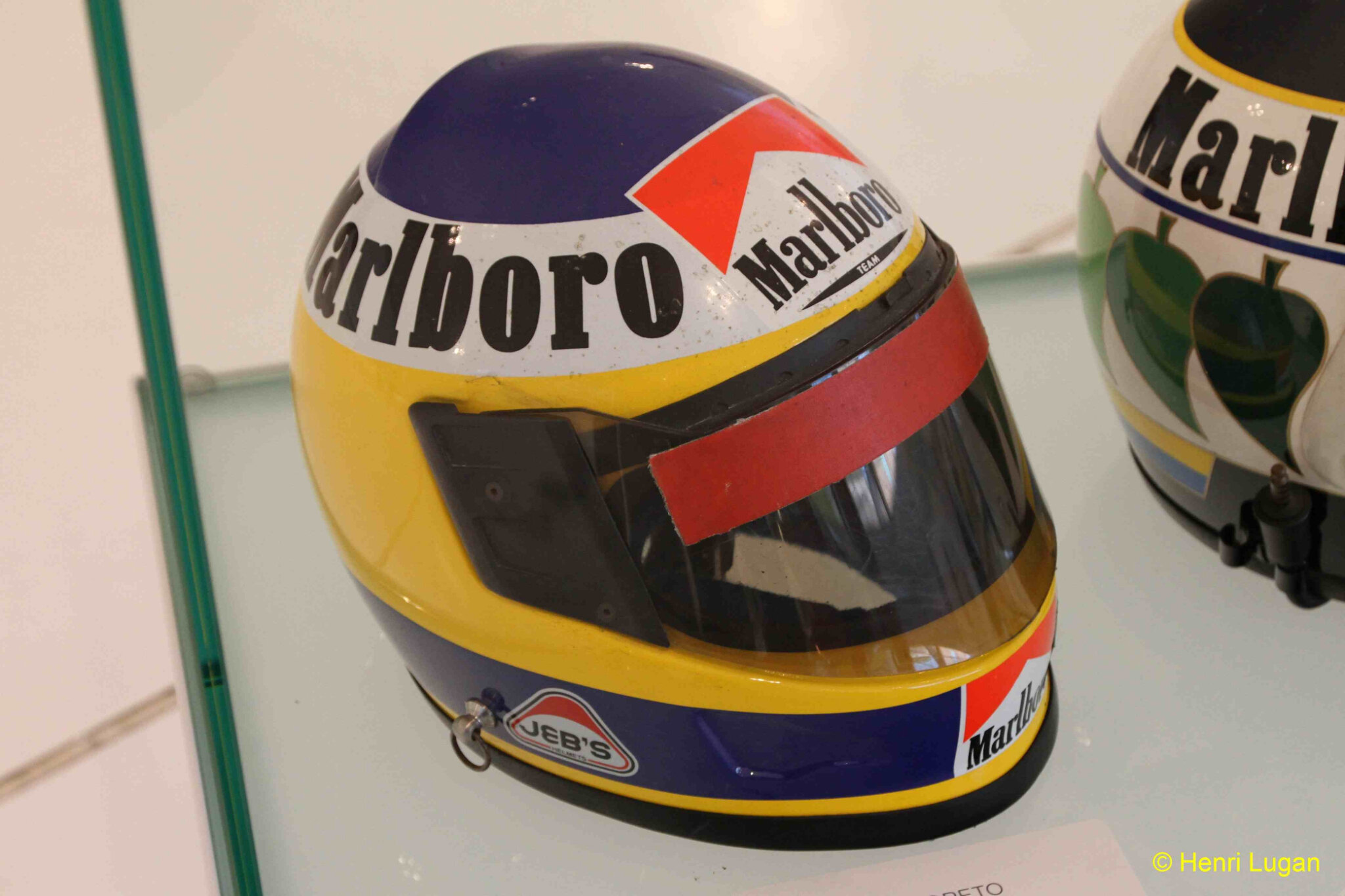 Casque ALBORETTO Michele - 1988 HL_GF