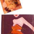Motif textile et aquarelle