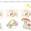 Transfert textile mimi lou