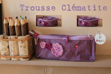 Trousse Clématite
