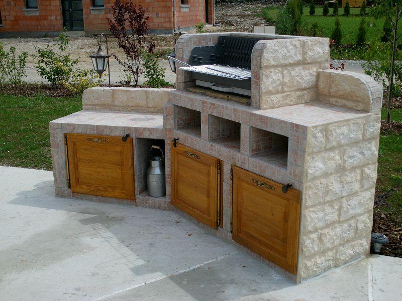 barbecue el matos constructions et passions. Black Bedroom Furniture Sets. Home Design Ideas