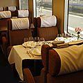 Déjeuner à bord du Mistral en 1961