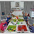 Anniversaire d'enfant à l'atelier des gourmandises - nîmes