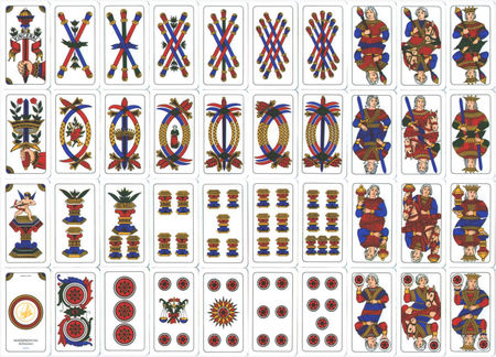 Jeux De Carte Espagne.Motifs Des Jeux De Cartes La Fenetre En Cage
