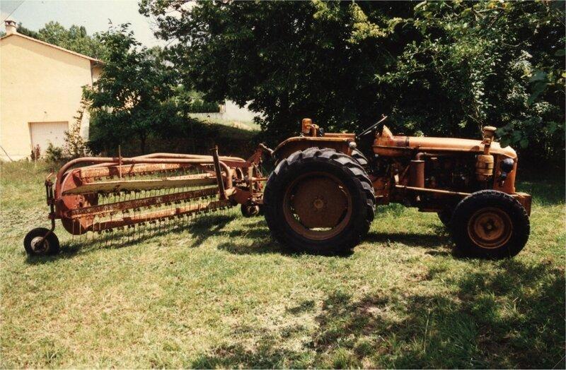 matériel agricole aux Sarthes