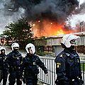 Suède: stockholm vit sa troisième nuit d'émeutes