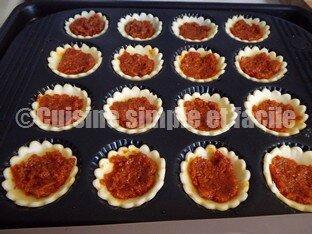 tartelettes chèvre et tartinade de tomates séchées 02