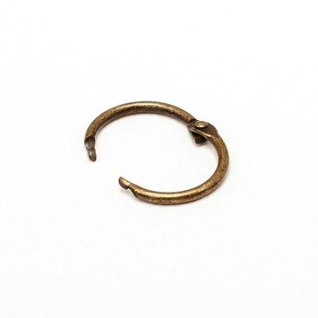 anneau-brisé-bronze-25mm-lot-50