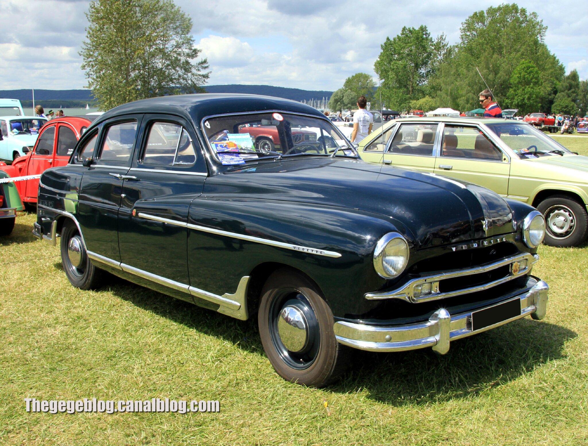 Ford vedette berline 4 portes (1948-1954)(Retro Meus Auto Madine 2012) 01