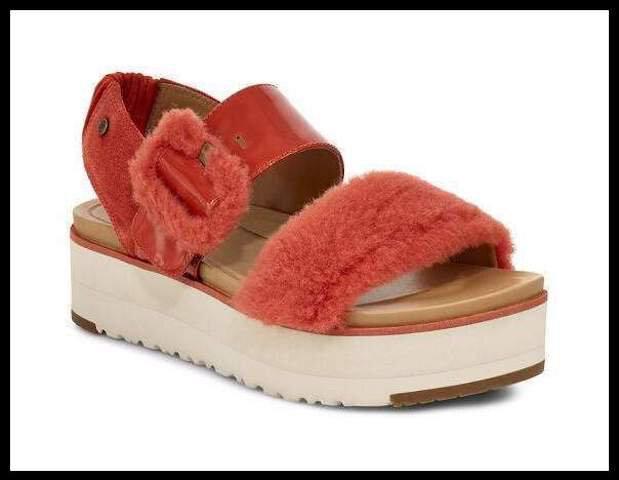 ugg sandale fluff 8