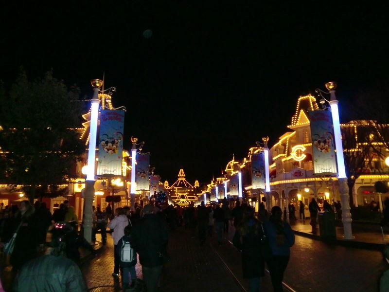 Main Street la nuit