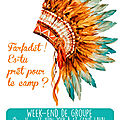 Week-end de groupe : j -11