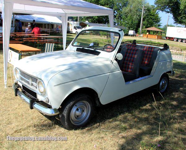 Renault 4L sinpar cabriolet plein air (6ème Fête Autorétro étang d' Ohnenheim) 01