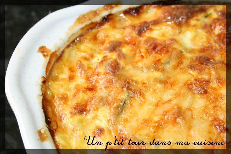 Clafoutis thon courgettes1