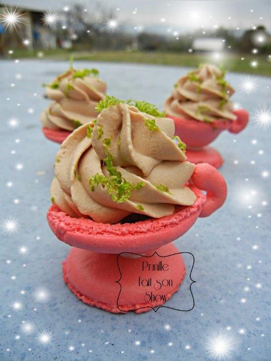Macarons tasses 3D - parfum signature