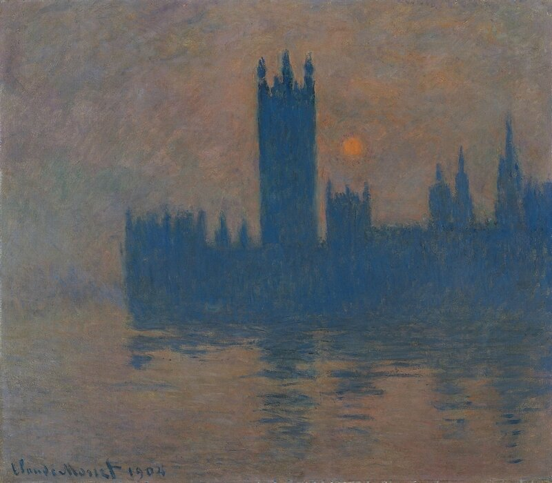 Houses-of-Parliament-Sunset