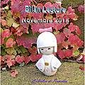 Bilan novembre 2018