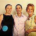 Association de cr+®ateurs Bruno LAFFARGUE patissier, son +®pouse et Corinne REINSCH cr+®atrice de la robe MACARON_petite